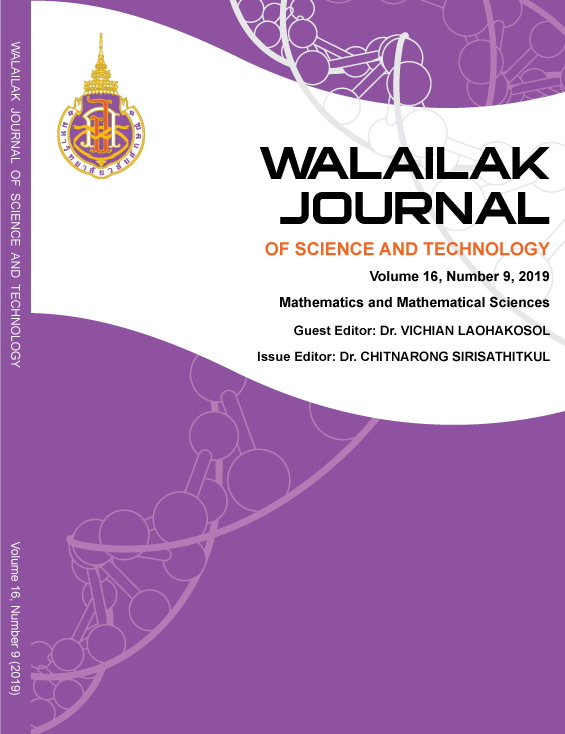 View Vol. 16 No. 9 (2019): Mathematics and Mathematical Sciences