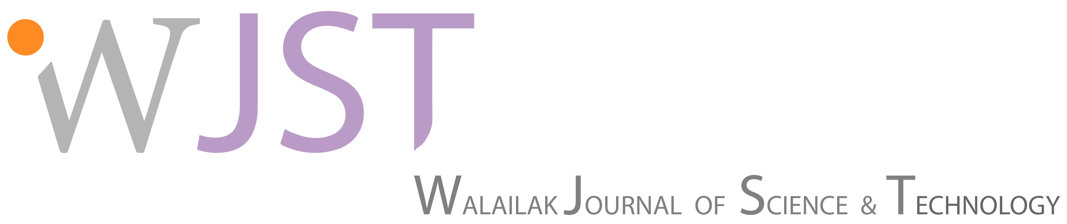 Walailak Journal of Science and Technology